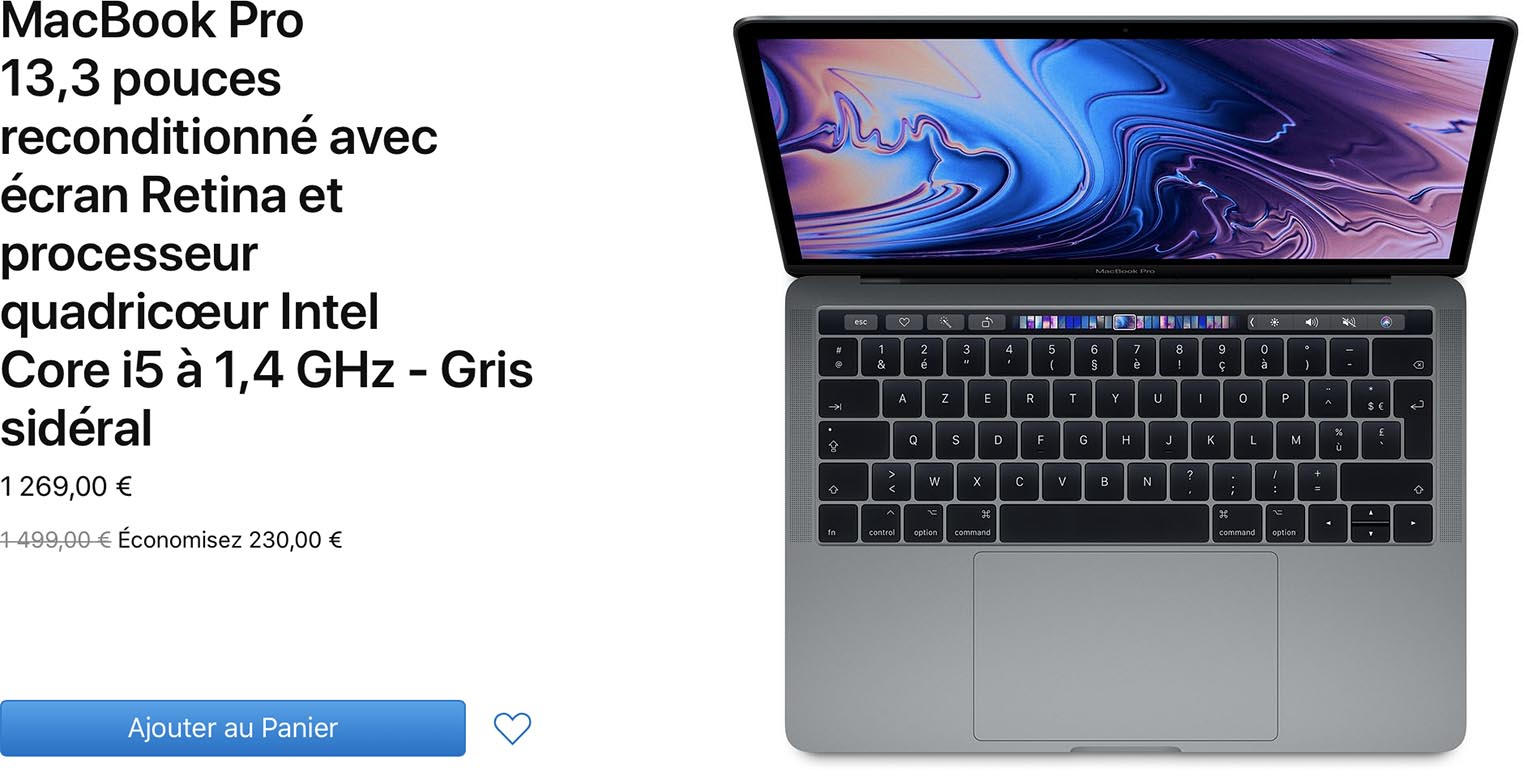 MacBook Pro 2019 Refurb
