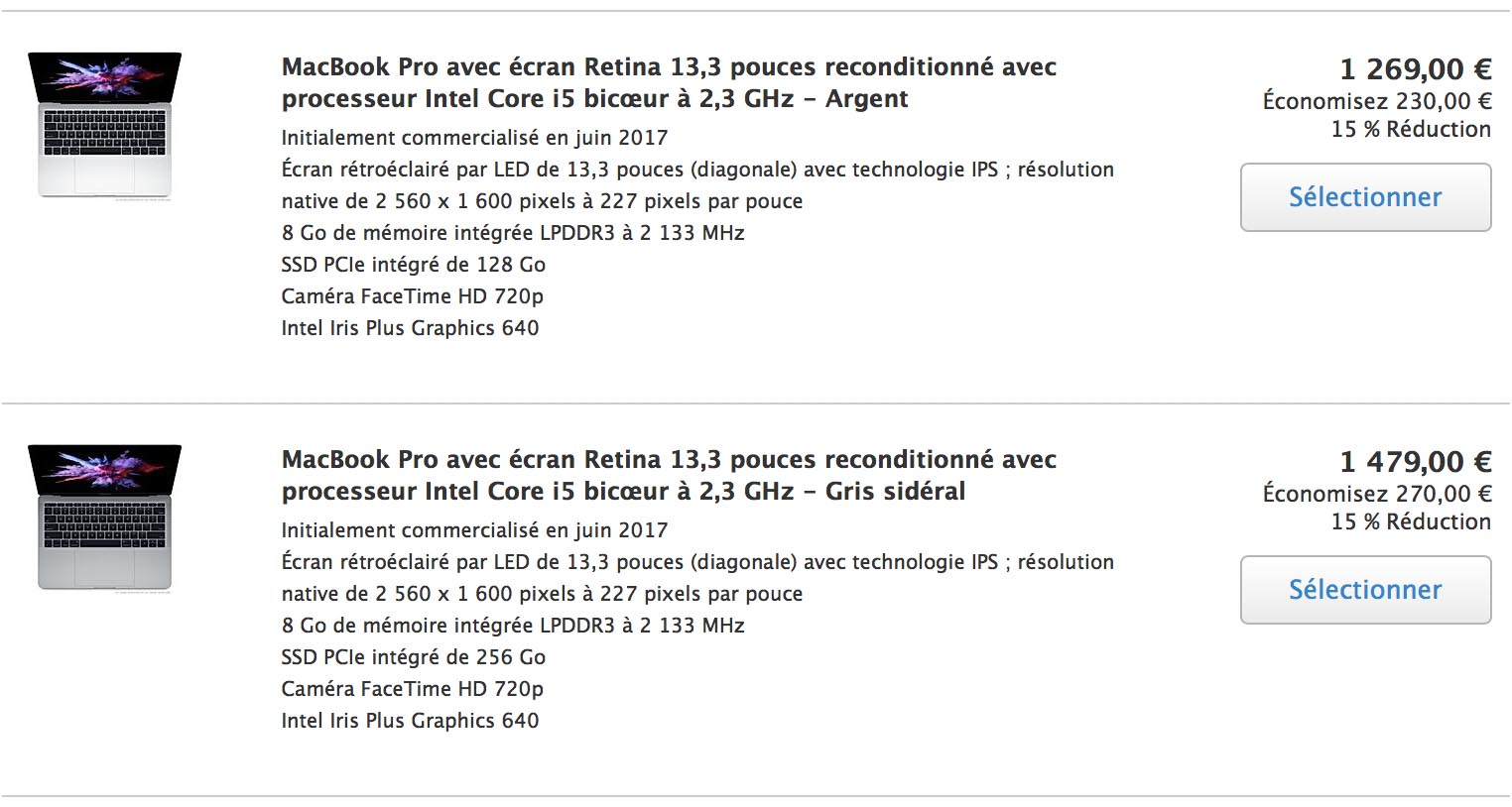 MacBook Pro Refurb