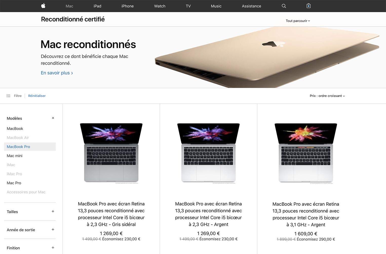 Refurb MacBook Pro 2019