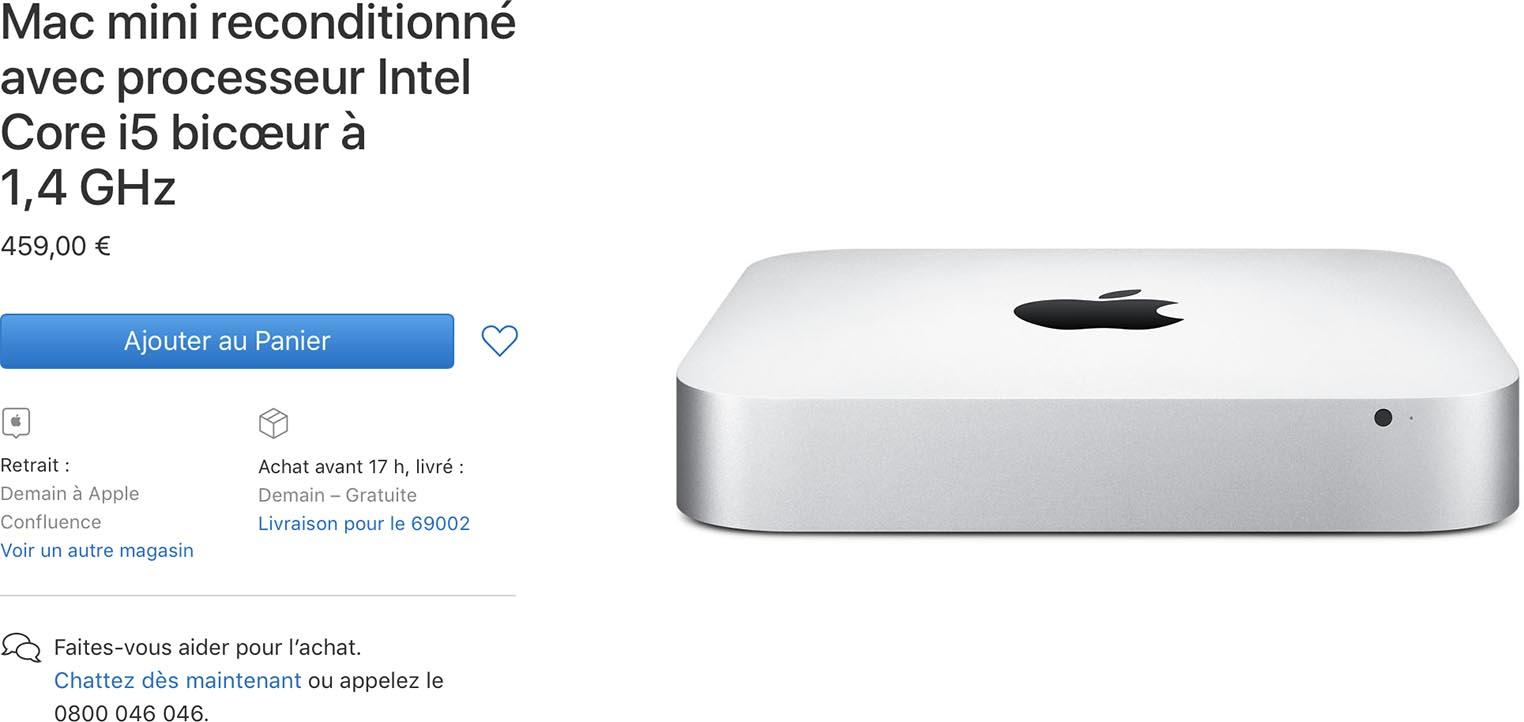 Refurb Store Mac mini