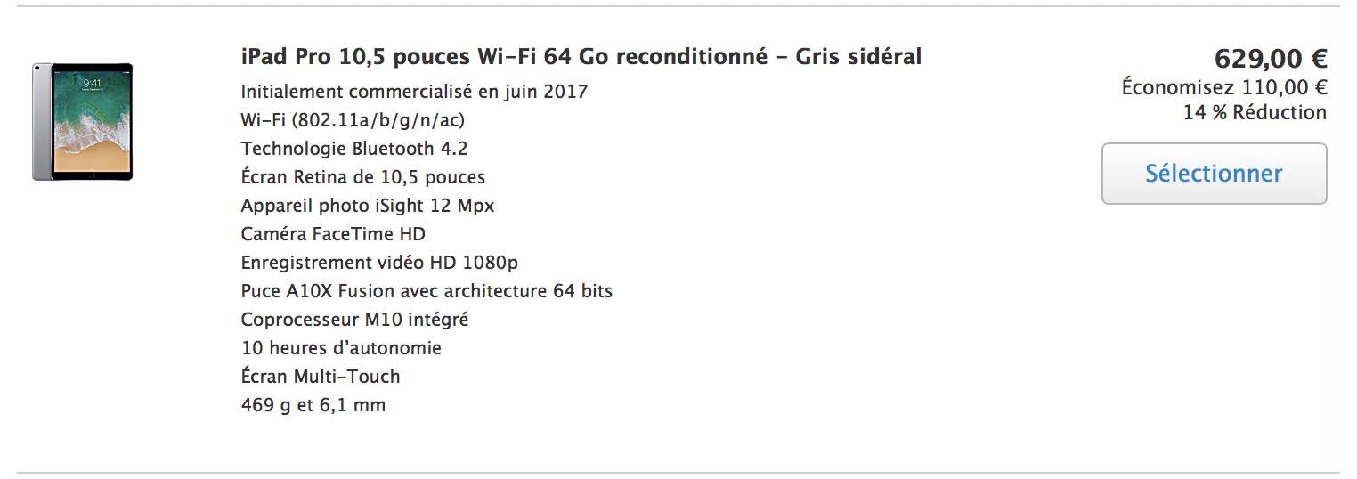 Refurb iPad Pro