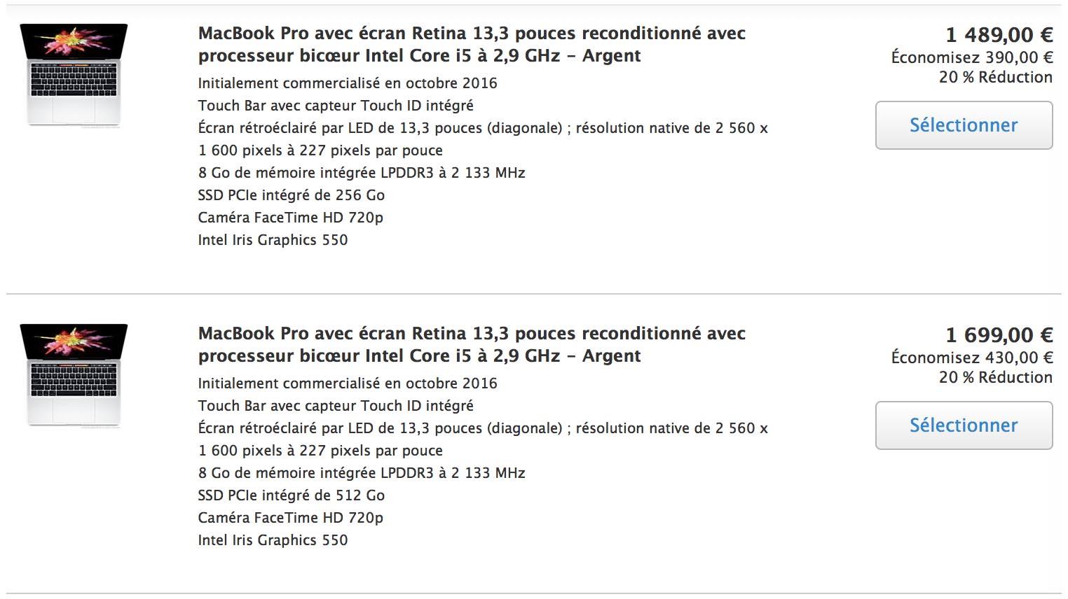 Refurb MacBook