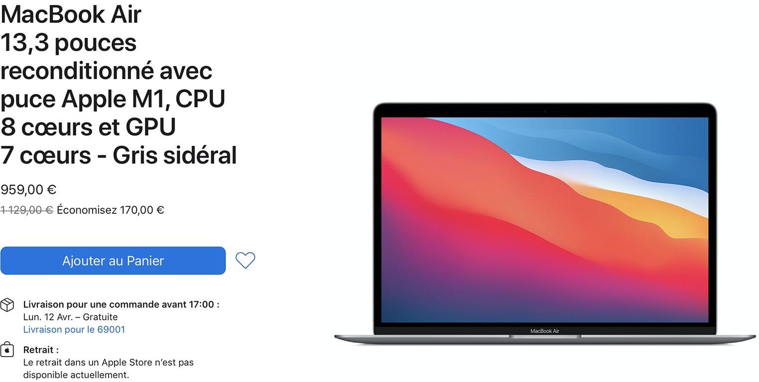 MacBook Air Refurb