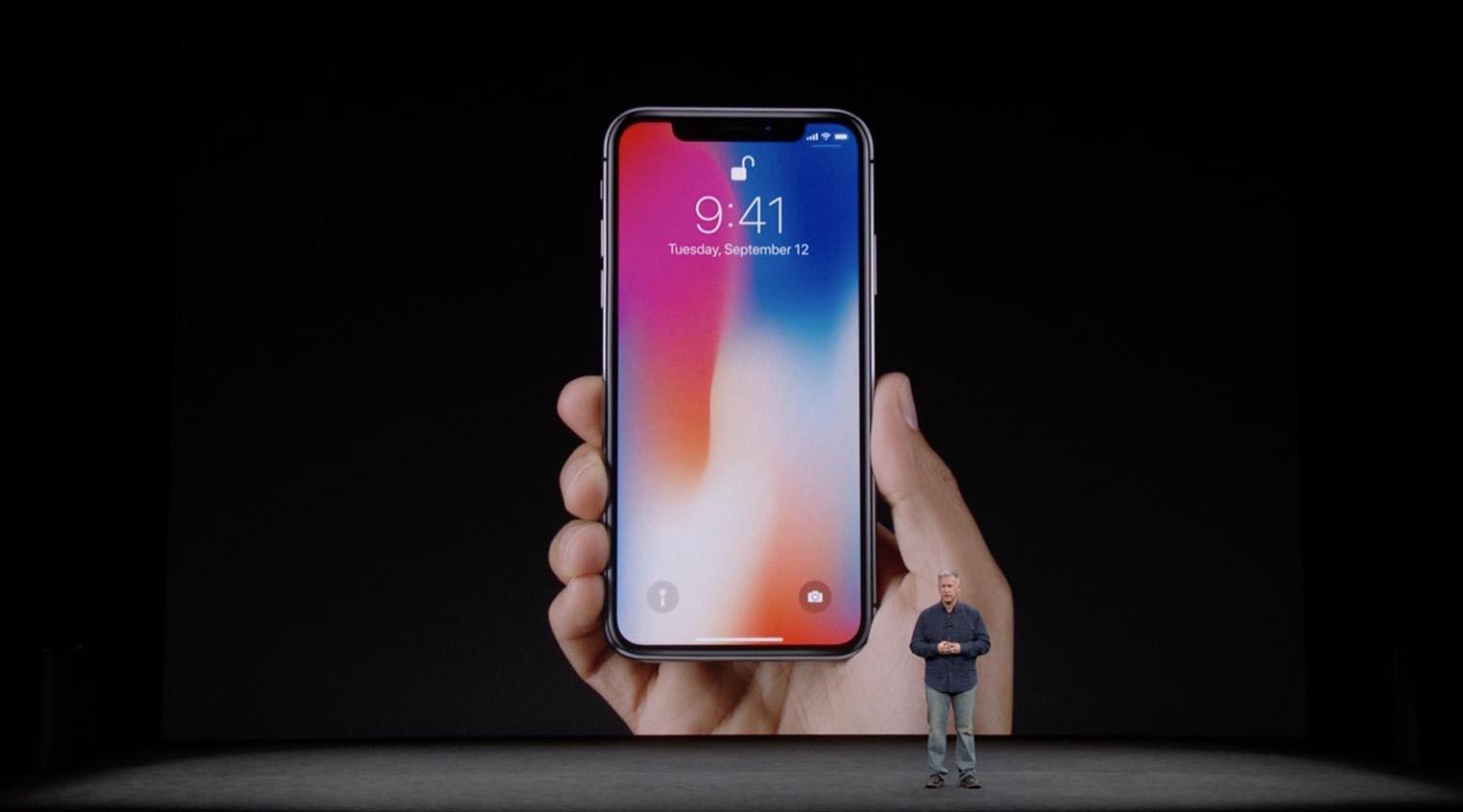 iPhone X keynote