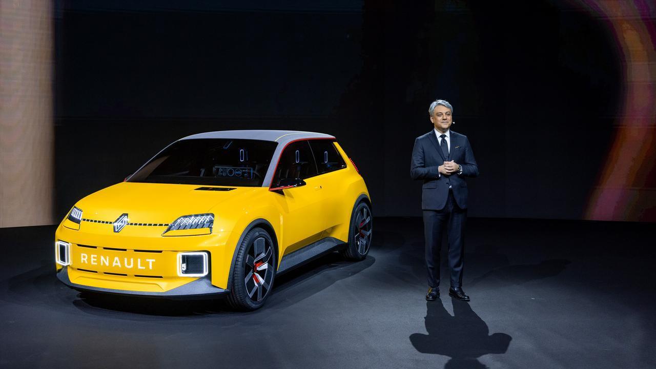 Renault 5 Électrique Luca de Meo