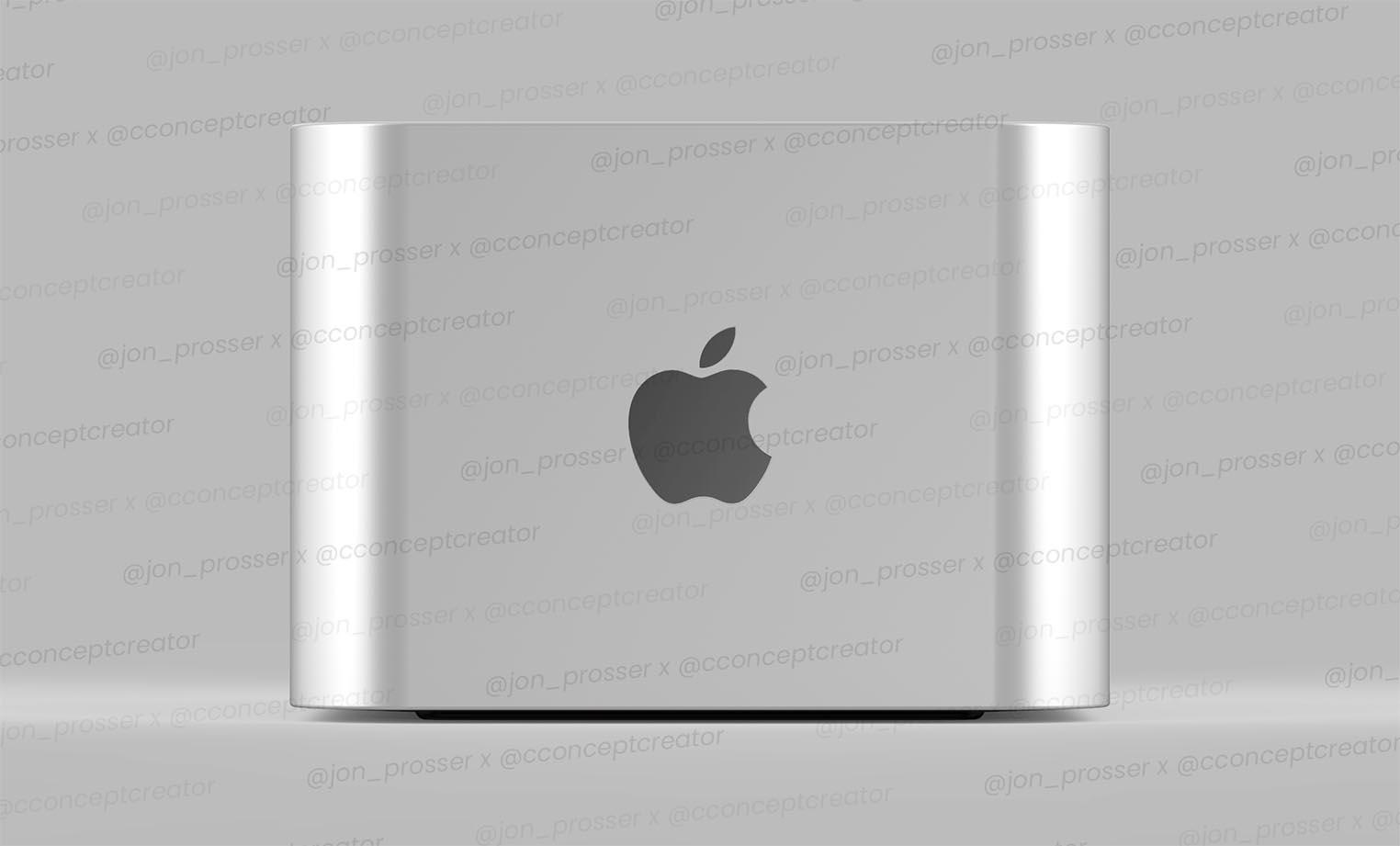 Rendu Mac Pro mini