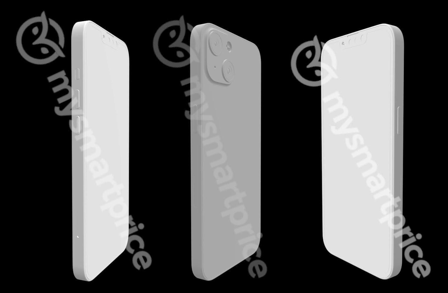 Rendus 3D iPhone 13