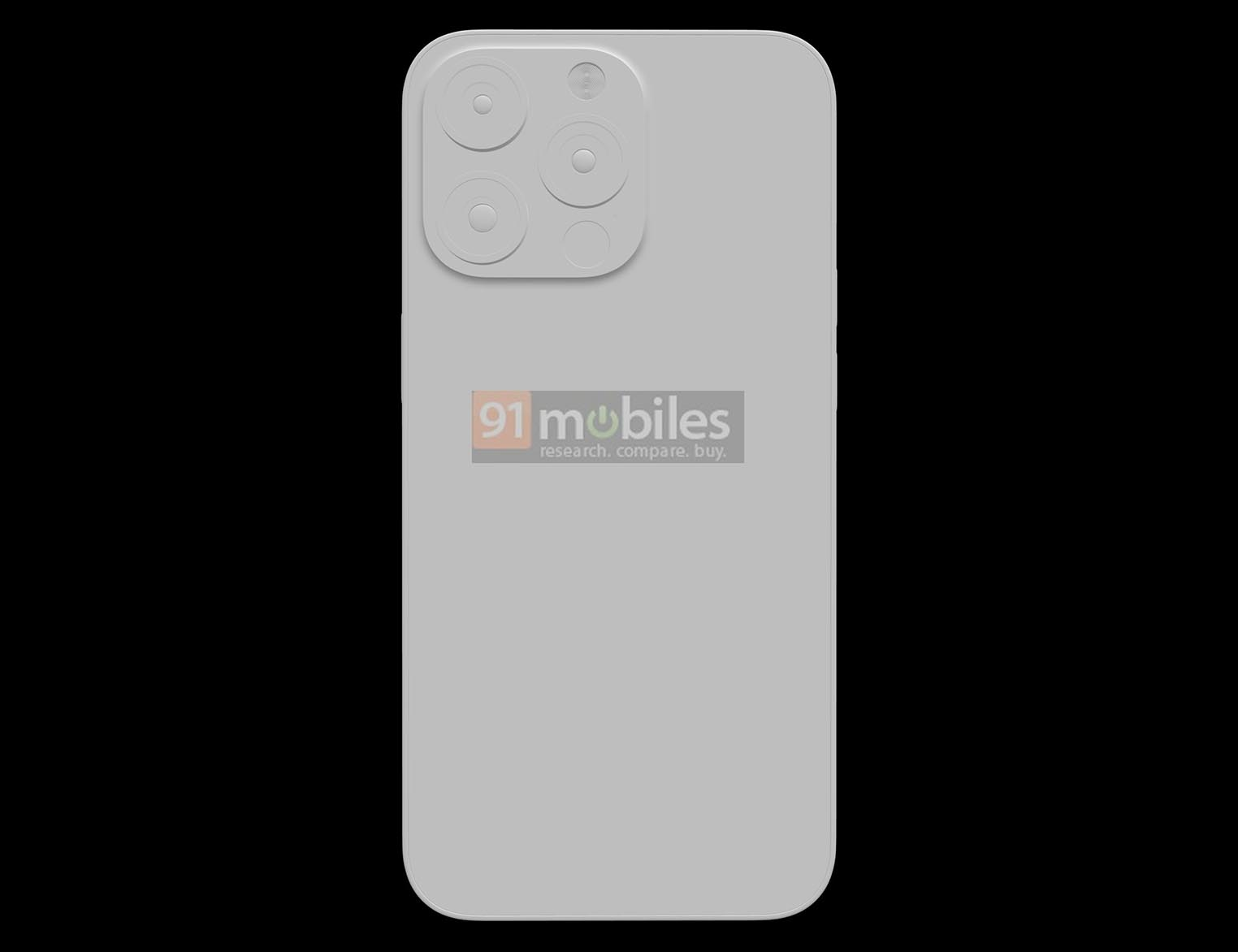 Rendus iPhone 13 Pro