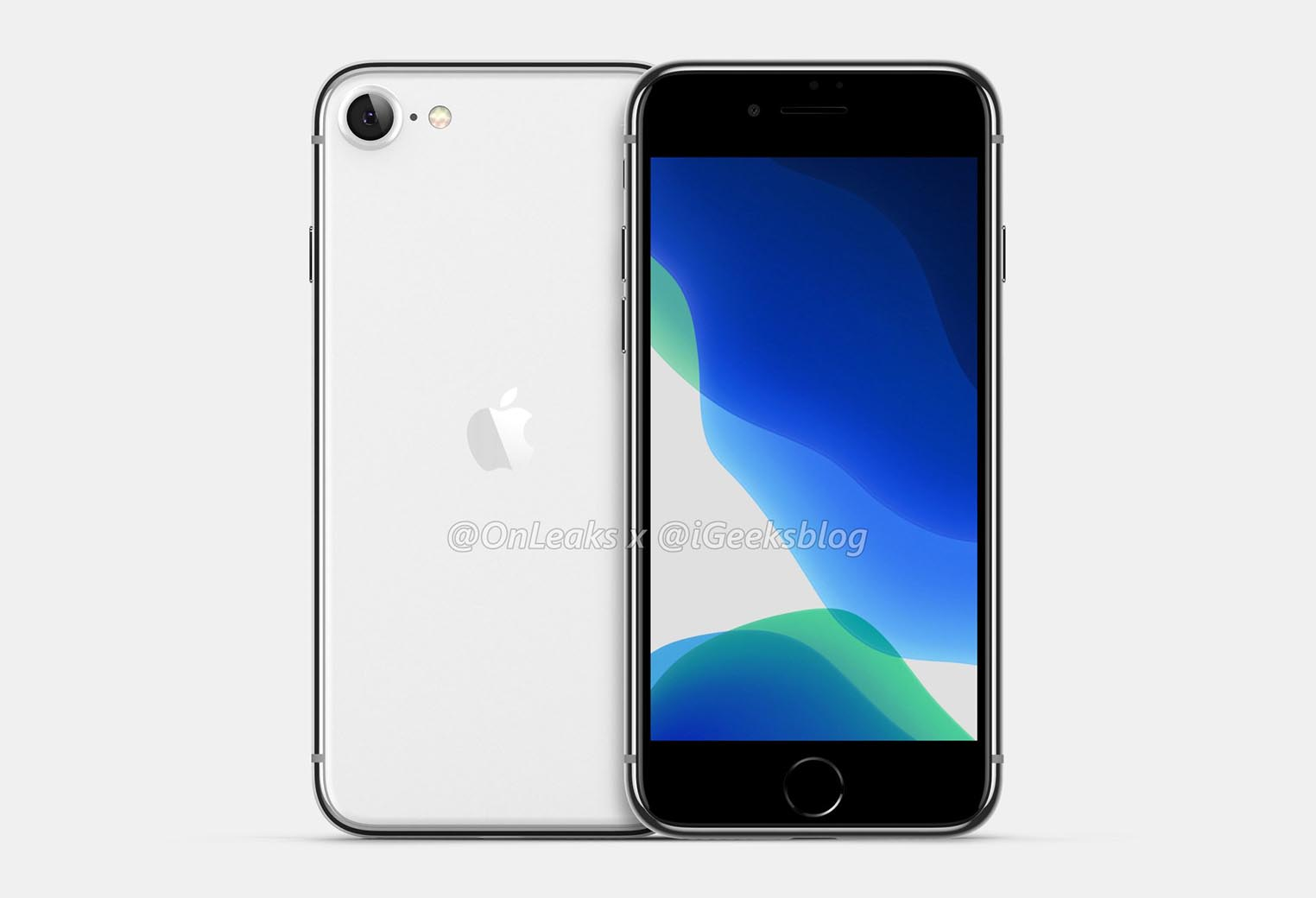 Rendu 3D iPhone 9