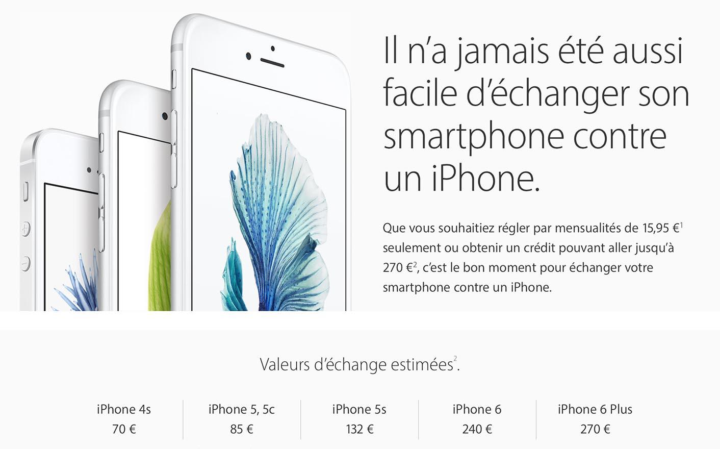 Reprise iPhone Apple