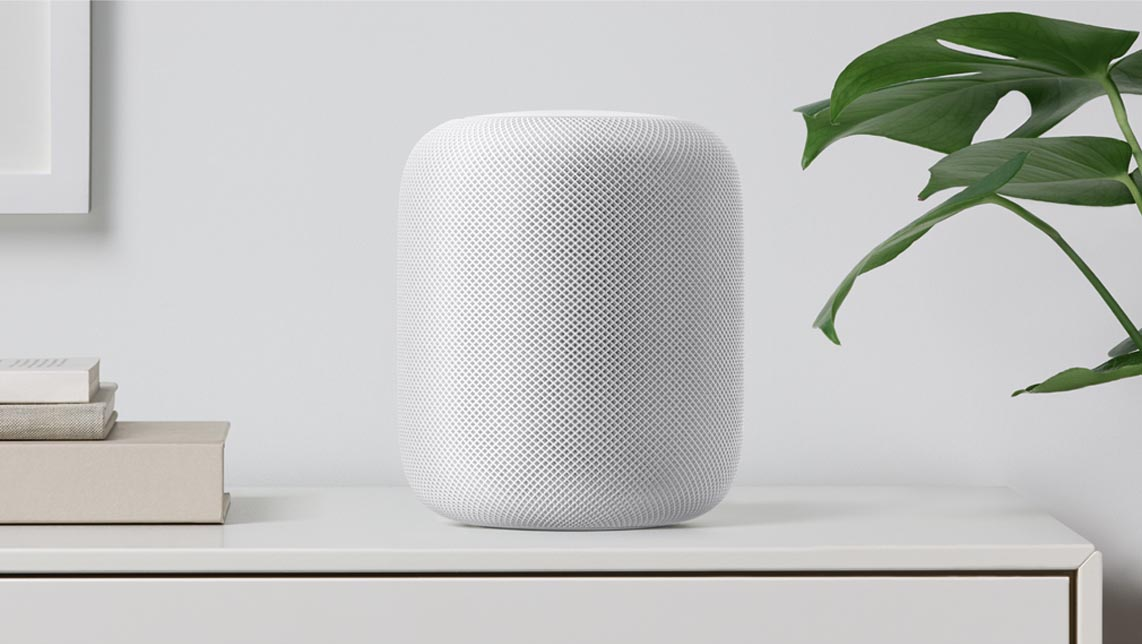 HomePod Apple blanc