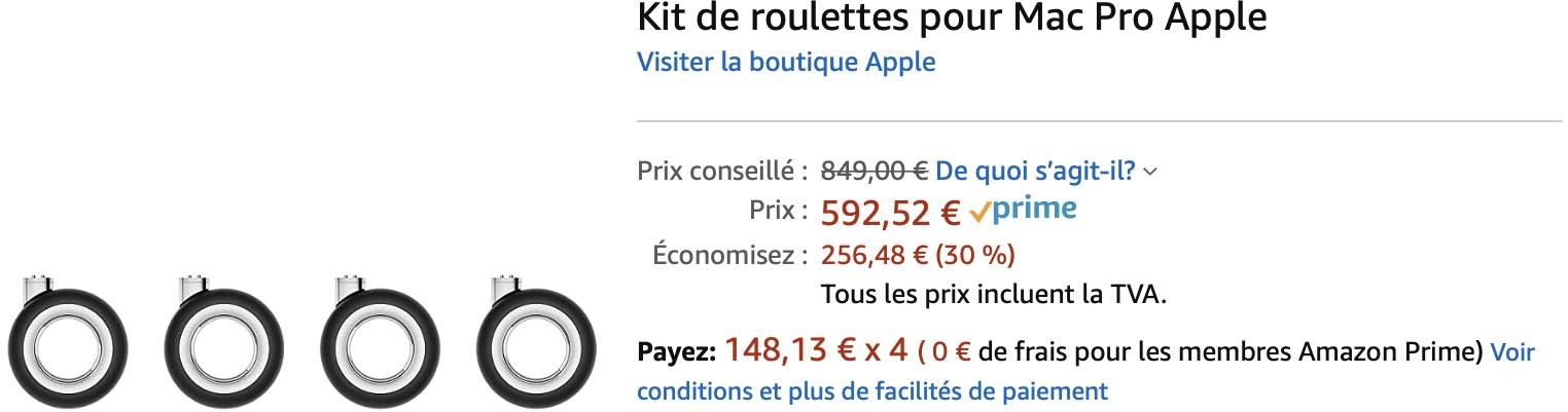 Roulettes Mac Pro Amazon