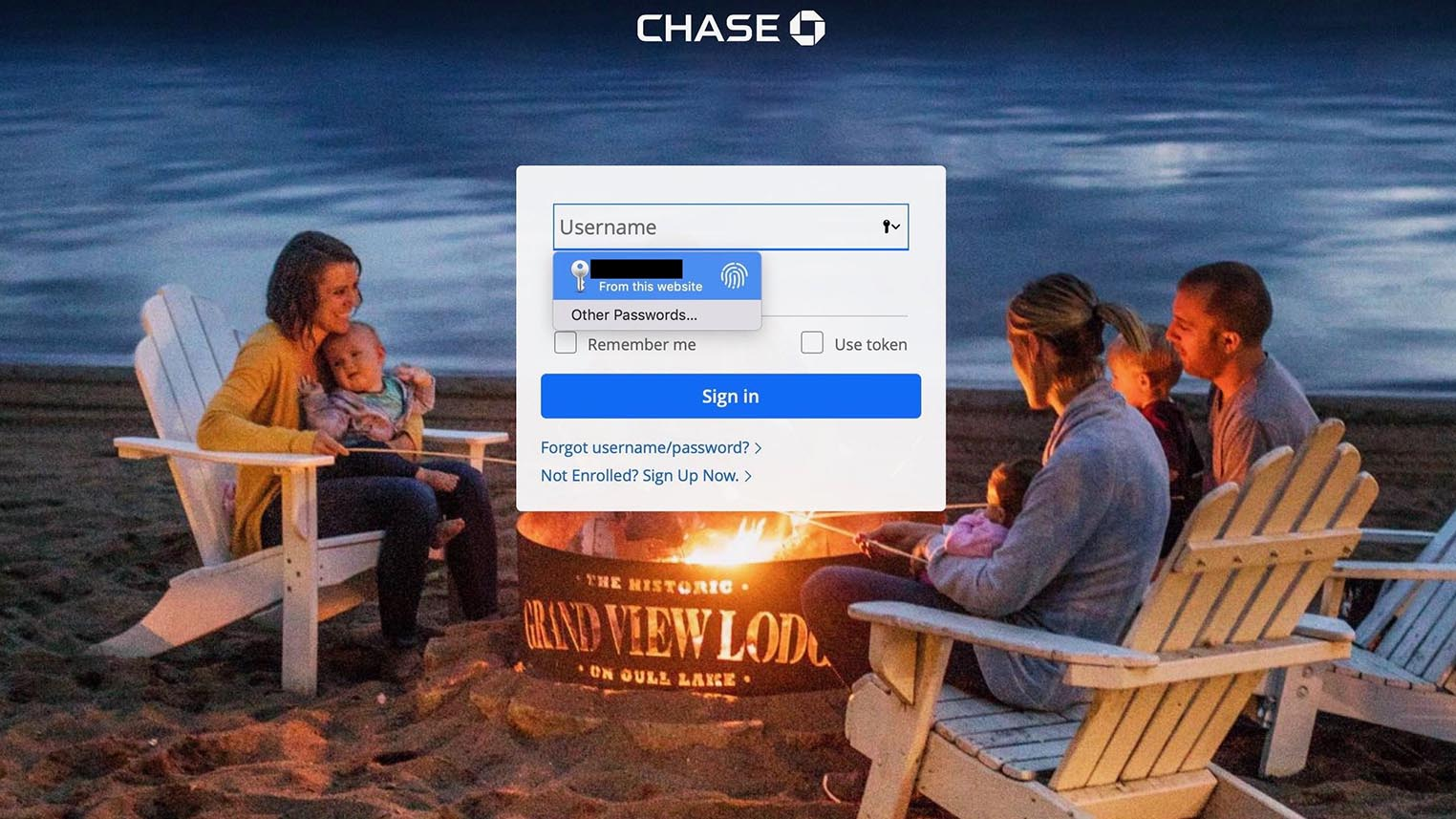 Safari mot de passe Touch ID