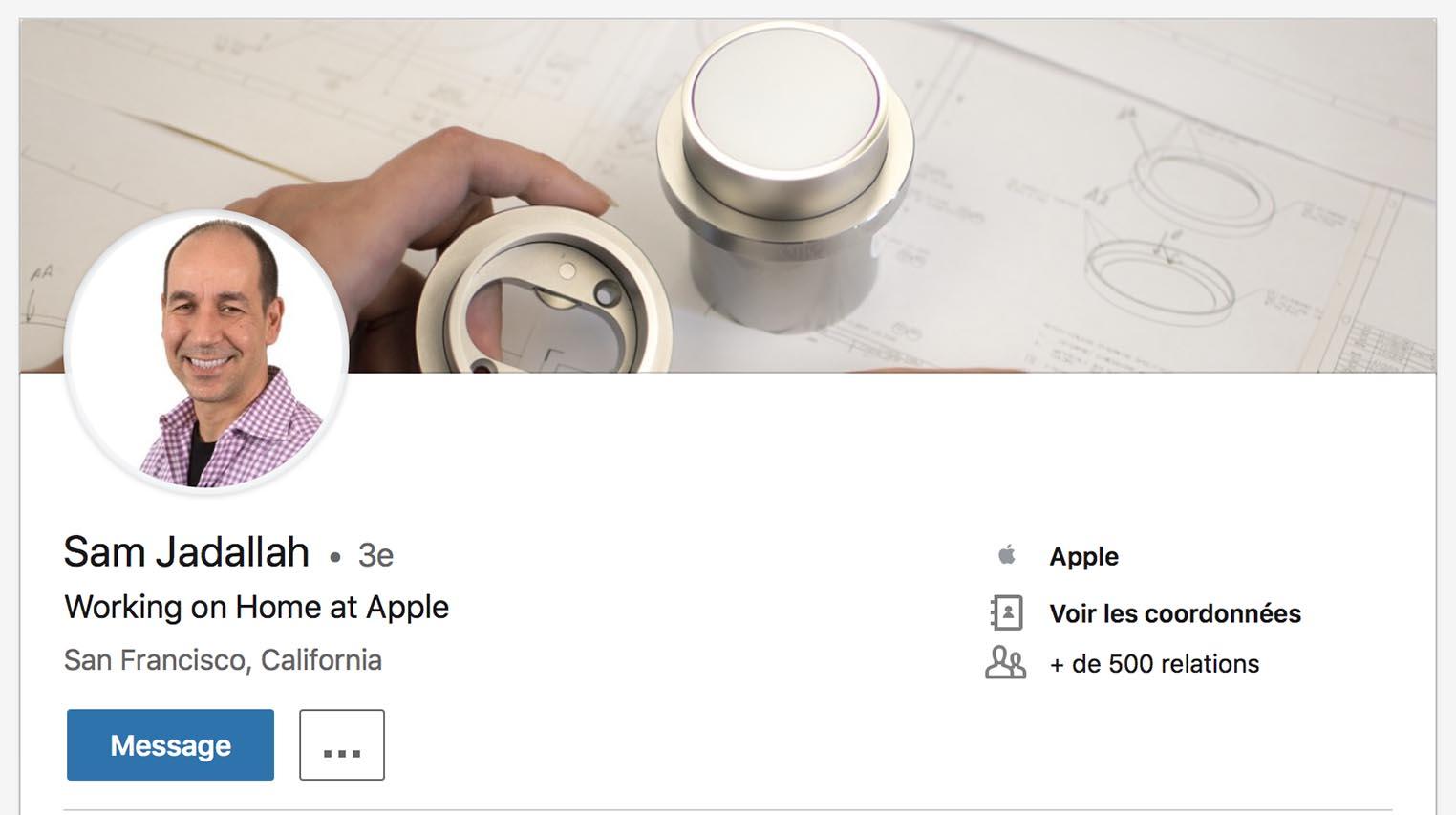 Sam Jadallah Apple HomeKit