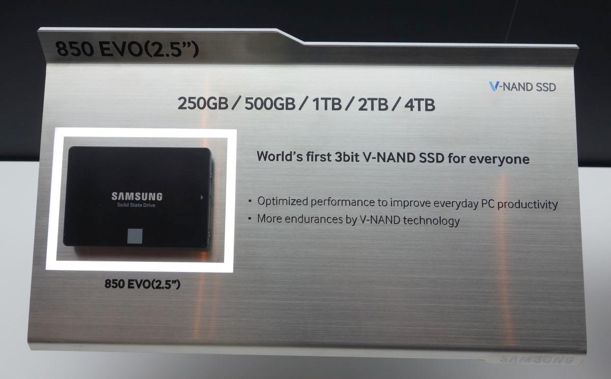 Samsung 850 EVO modèles SSD