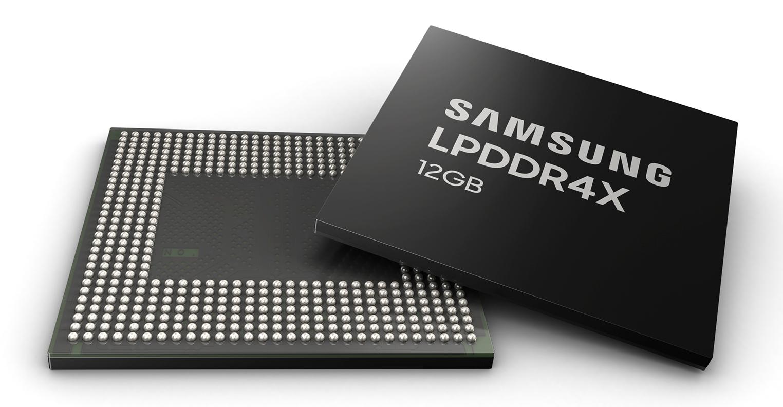 Samsung LPDDR4X 12 Go