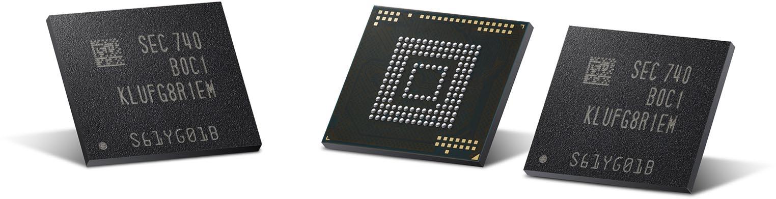 Samsung eUFS NAND 512 Go