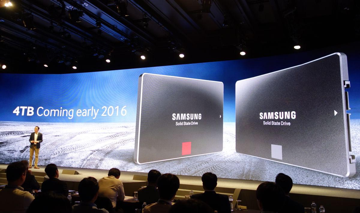 Samsung SSD 4 To