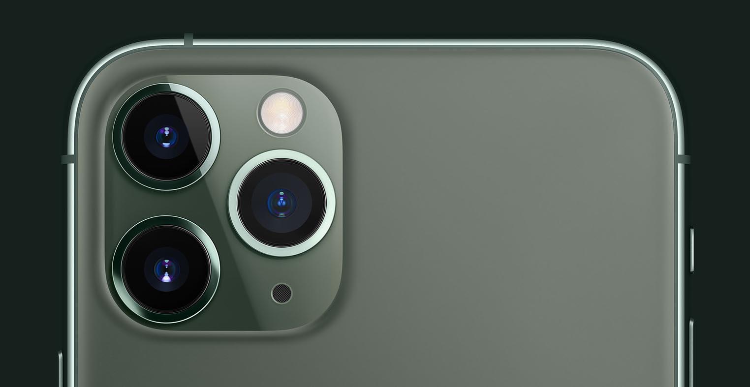 Capteurs iPhone 11 Pro