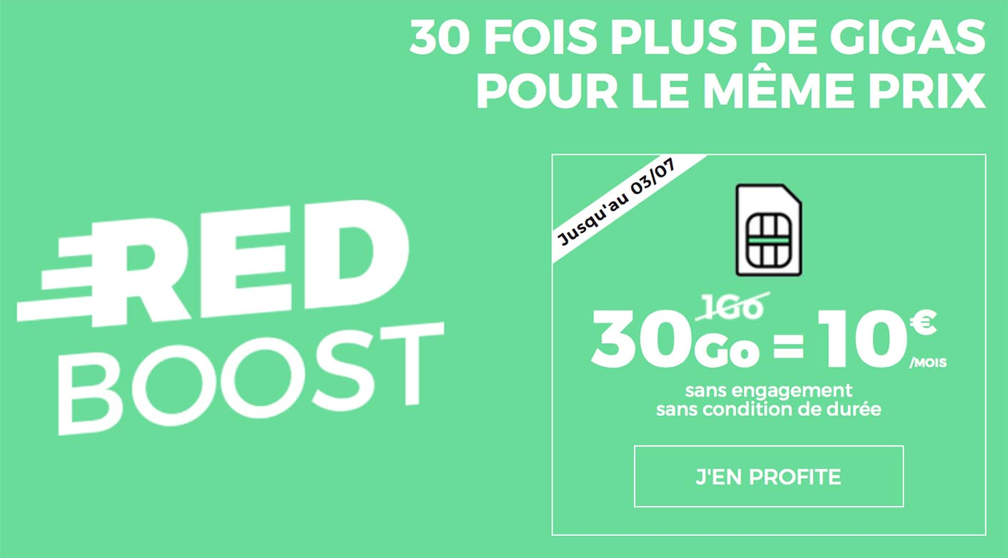 SFR RED forfait