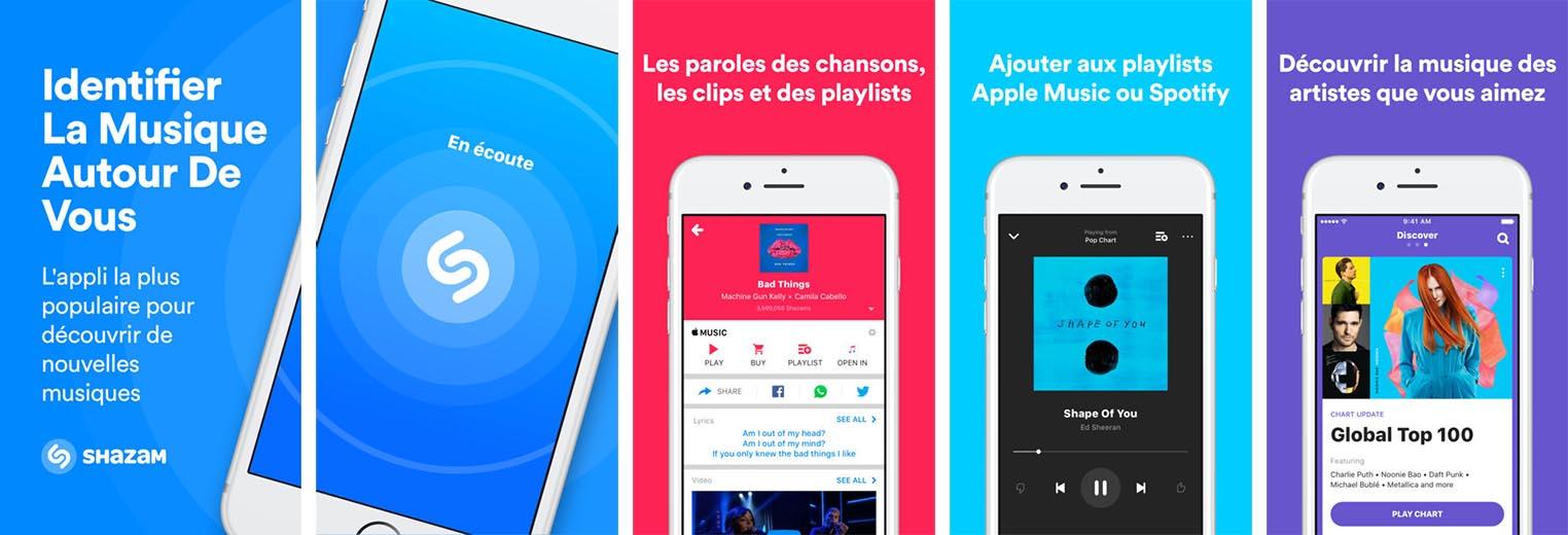 Apple rachat Shazam