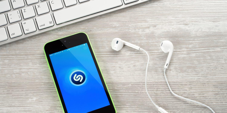 Shazam iPhone 5c