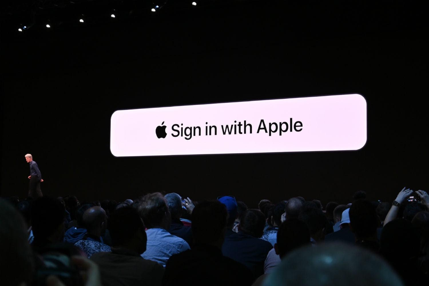 Sign in with Apple keynote