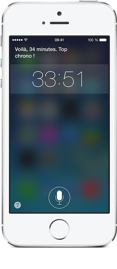 Siri Compte à rebours