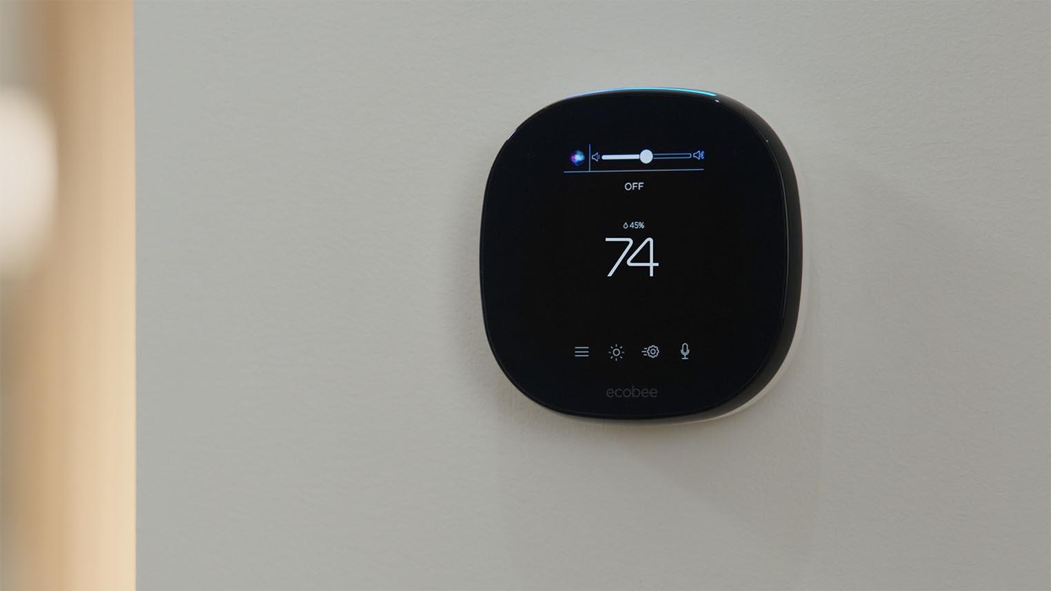 Siri ecobee SmartThermostat