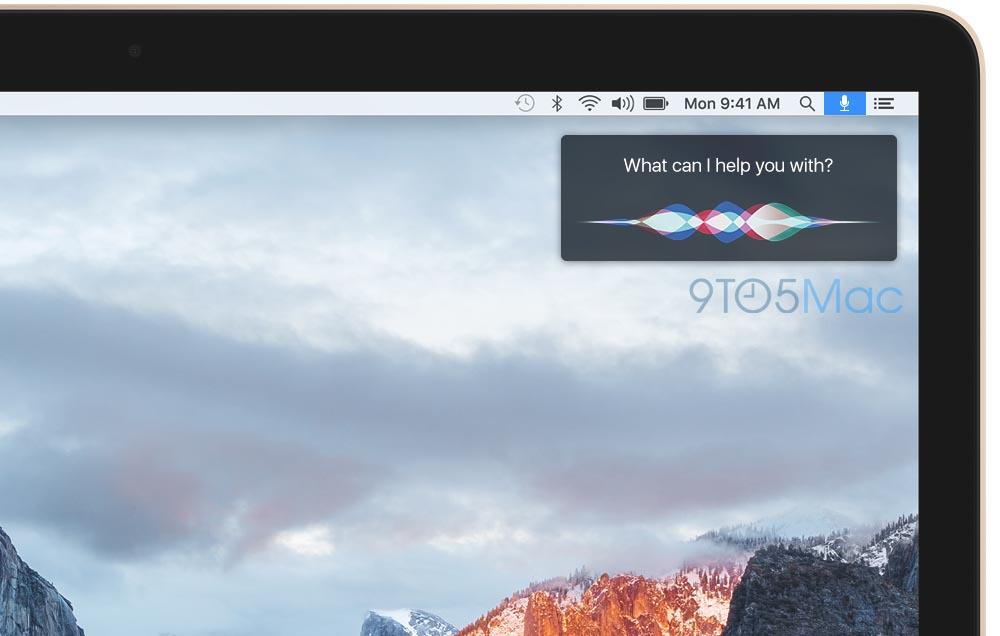 Siri Mac montage