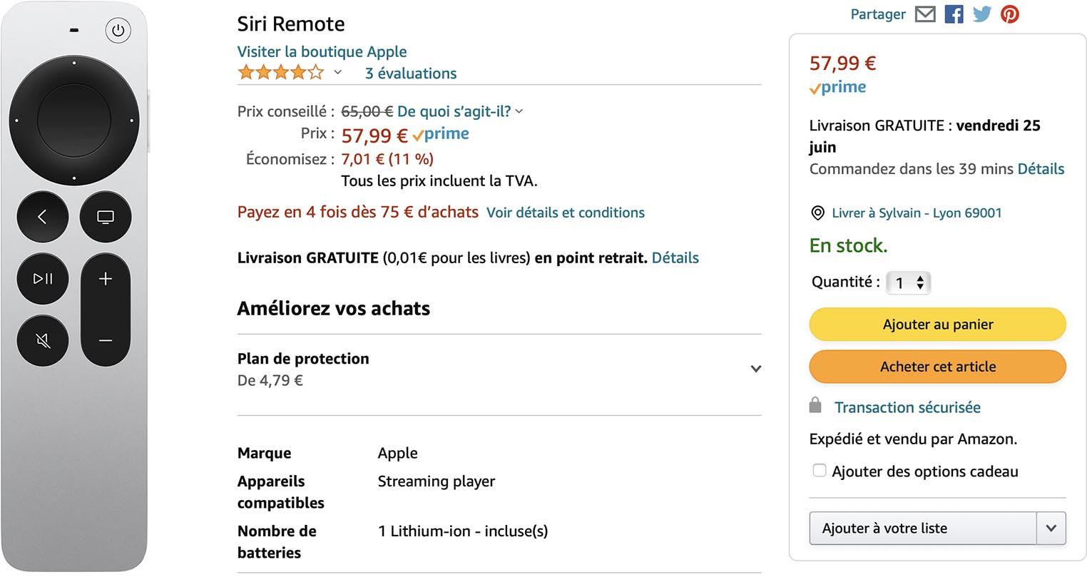 Siri Remote Amazon