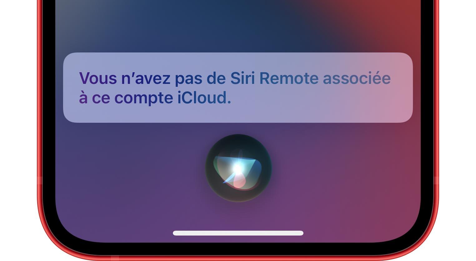 Siri Remote Localiser