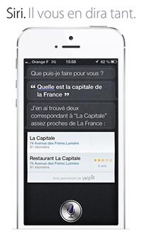 Siri : Capitale de la France