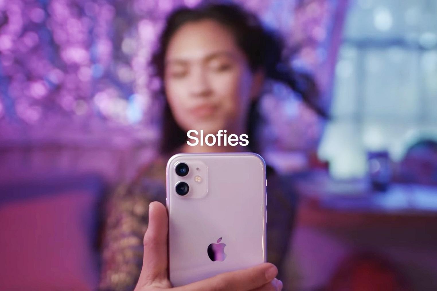 iPhone 11 Slofie