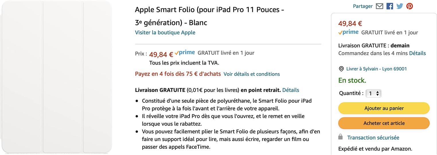 Smart Folio iPad Pro 11