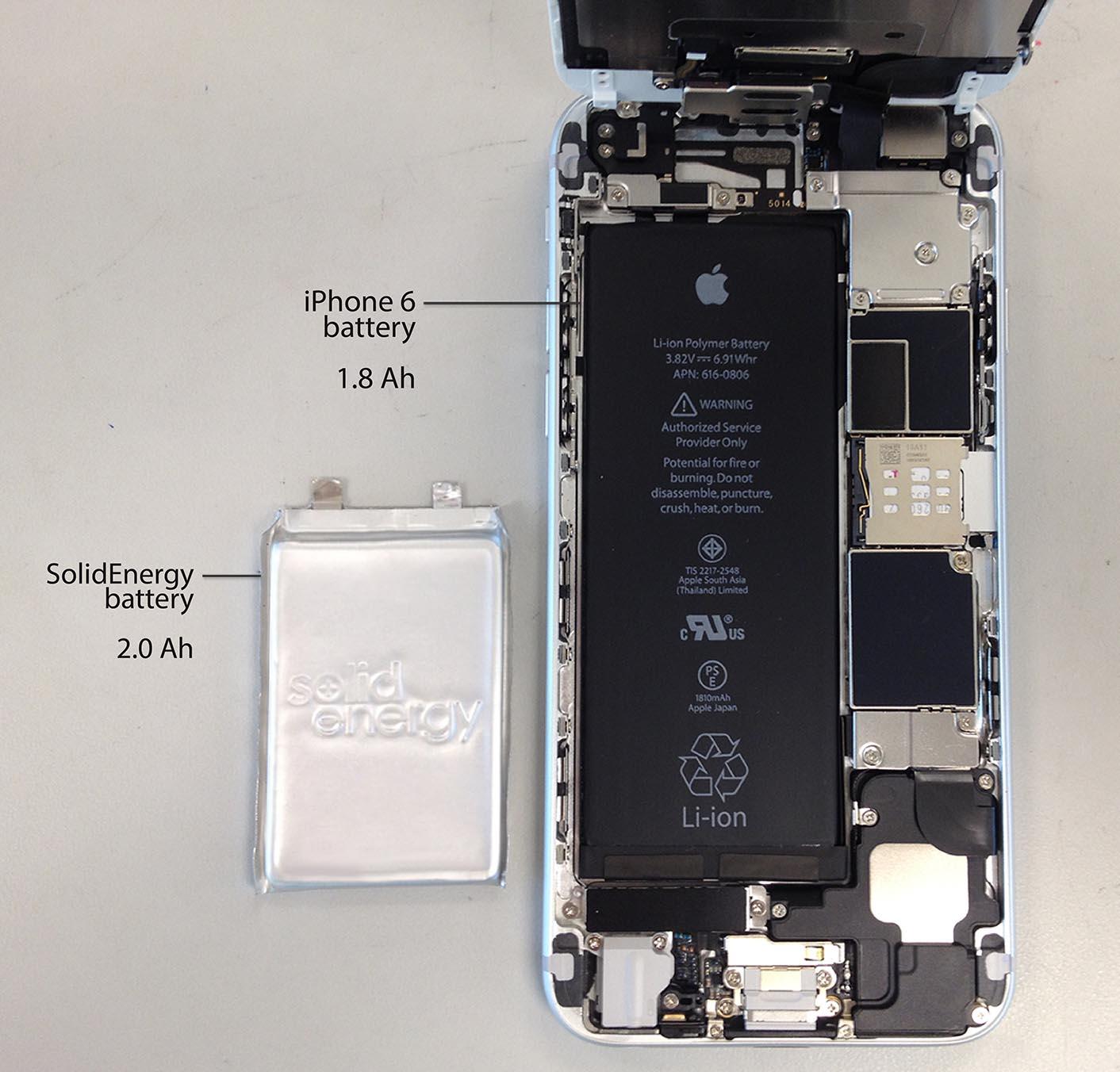 Batterie SolidEnergy
