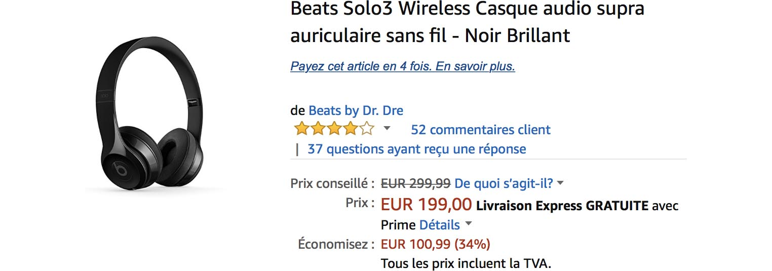 Beats Solo3 Amazon