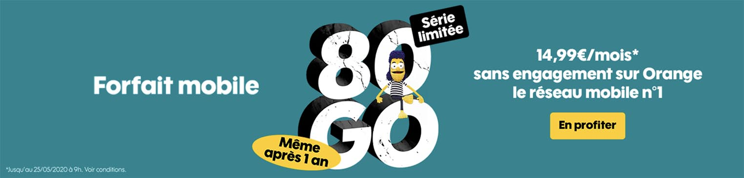 Sosh 80 Go