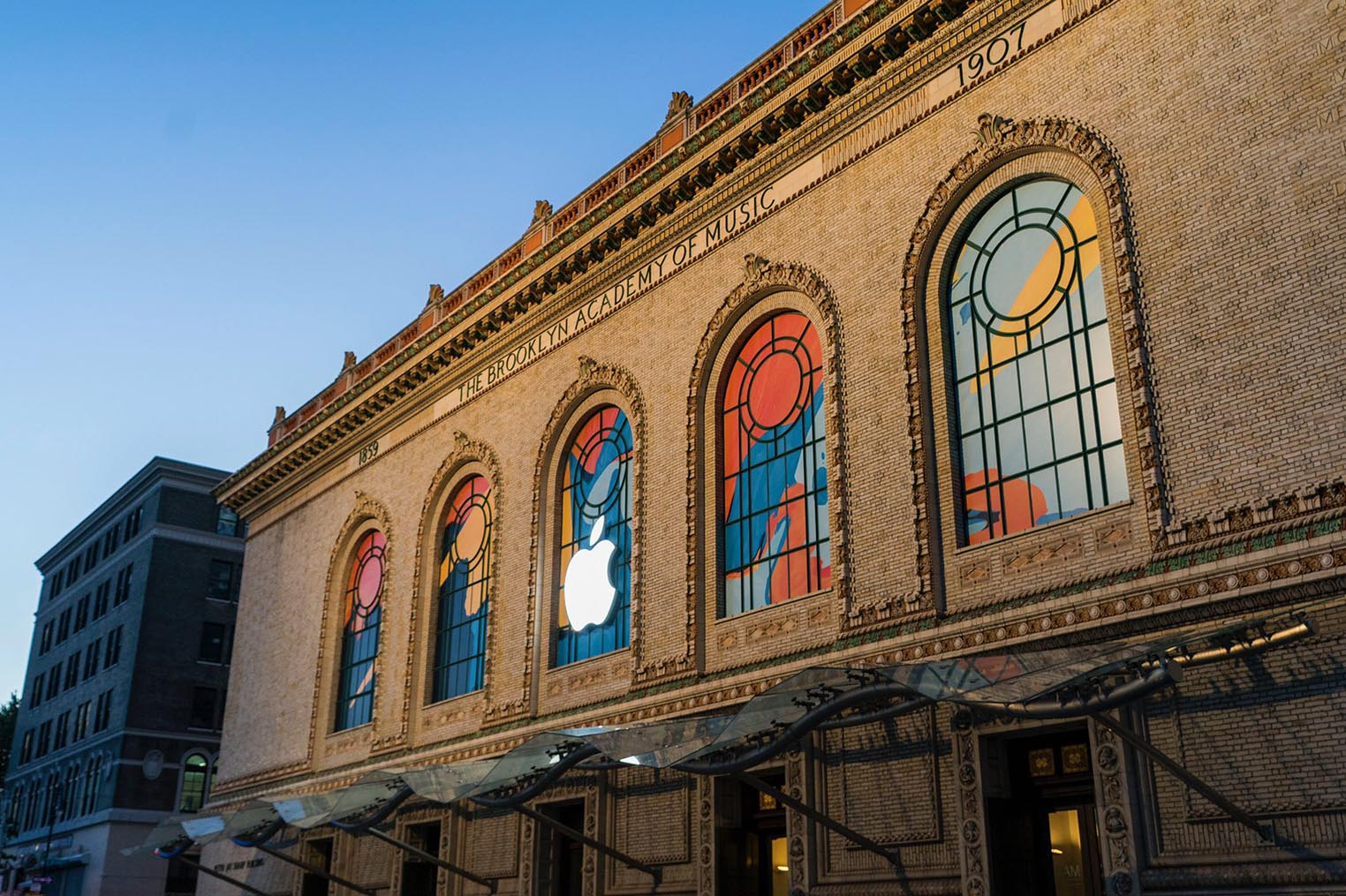 Apple Brooklyn Academy of Music New York