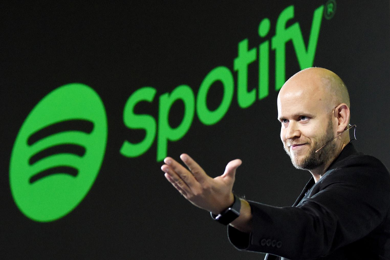 Spotify Daniel Ek