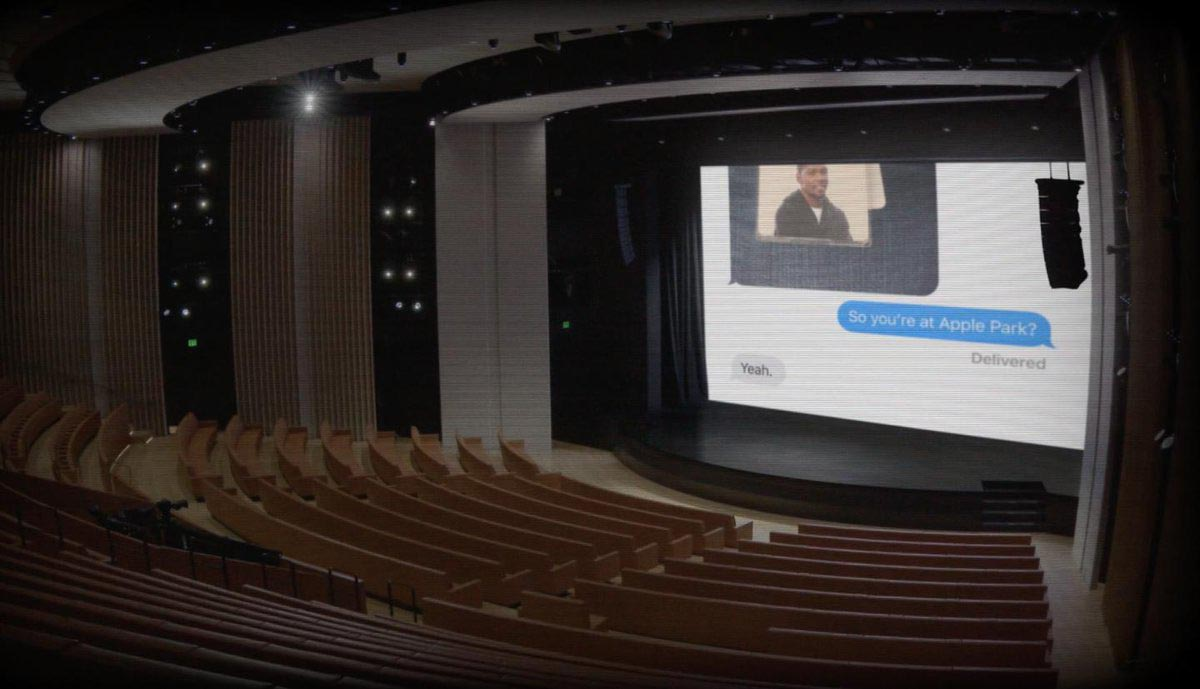 Steve Jobs Theater webcam