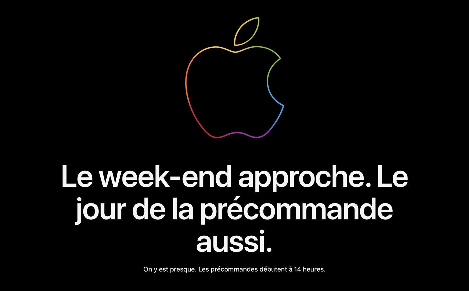 Apple Store fermé précommandes iPhone 12