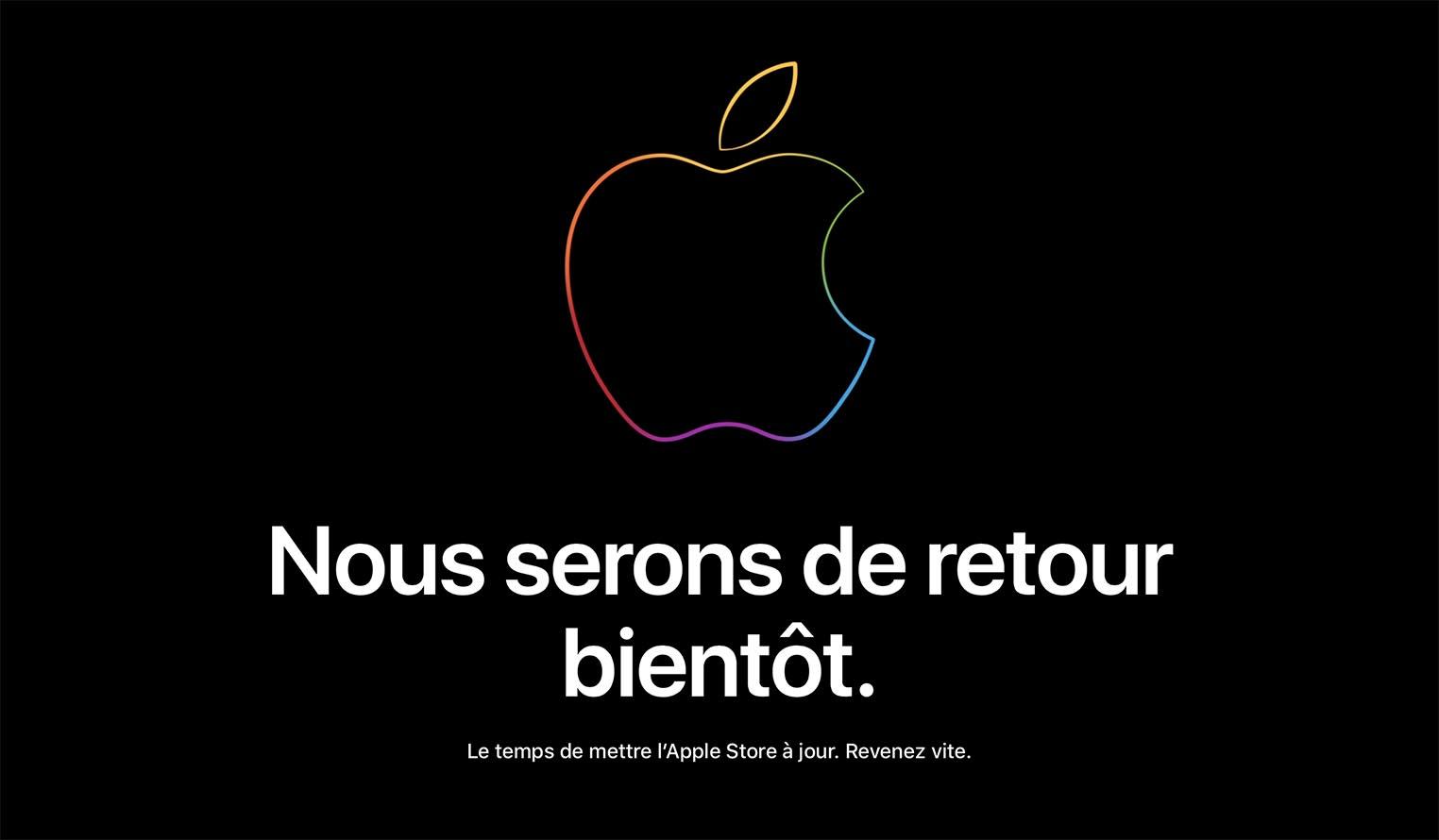 Apple Store fermé septembre 2018