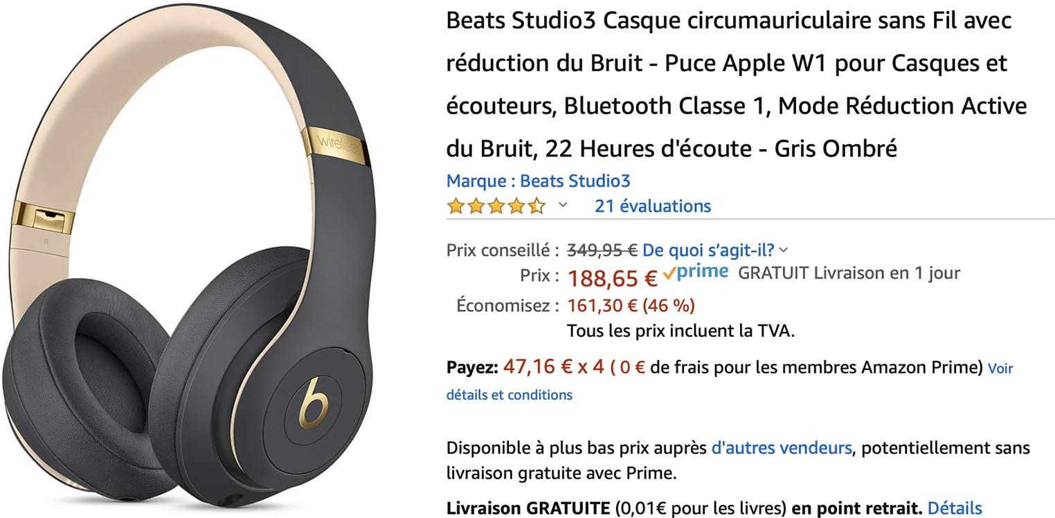 Beats Studio3 Amazon