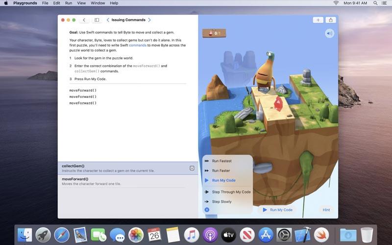 Swift Playgrounds débarque sur Mac !