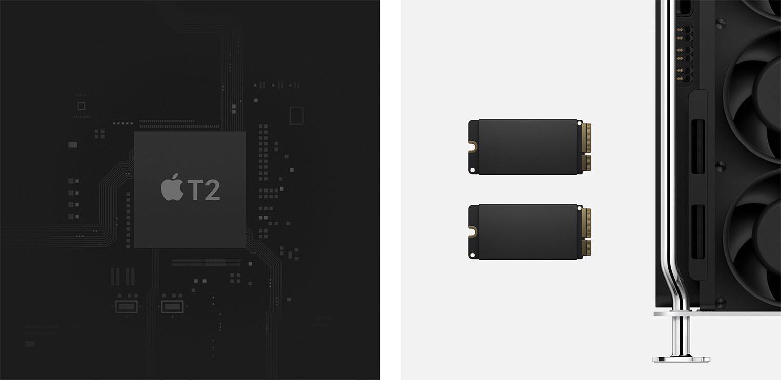 Apple T2 SSD Mac Pro 2019