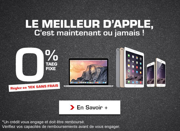 consomac promos et 10 fois sans frais sur le mac l. Black Bedroom Furniture Sets. Home Design Ideas