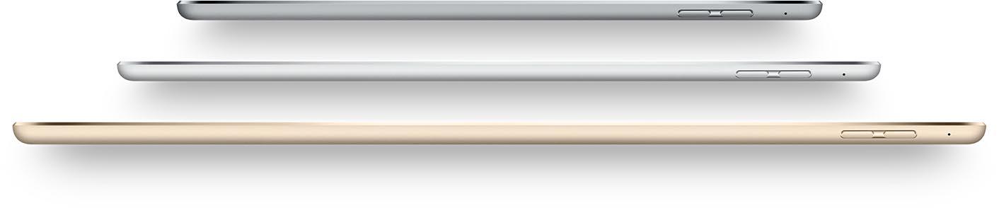 Tailles iPad