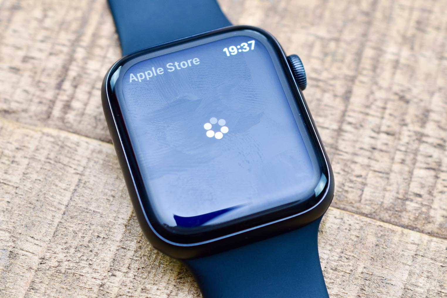 Apple Watch 4 chargement