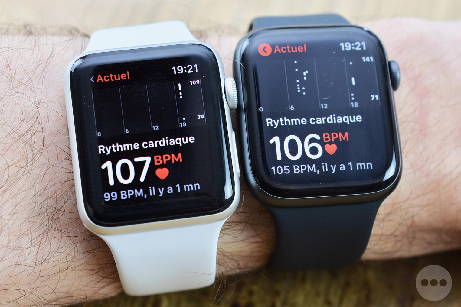 Test Apple Watch 4 coeur